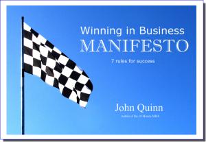 Winning in Business Manifesto