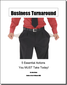 Business turnaround report 5 Actions you must take today